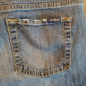 Signature by Levi Strauss Jeans - Levi 515 Stretch Low Rise Boot Cut Jeans- Size 16
